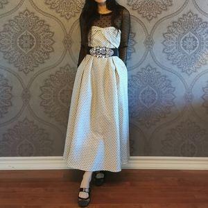 New Dior Silk polka dot dress